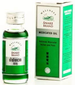 Snack brand medicated oil - Huile médical - 60 ml